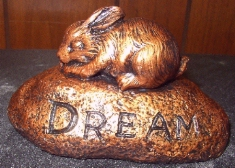 Bunny Dream Paperweight